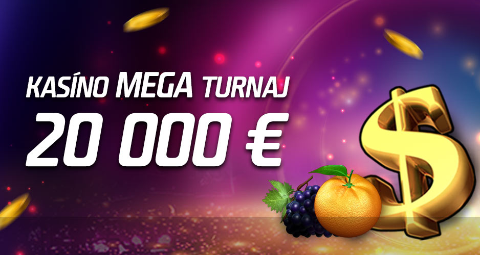 20 000 € a JACKPOTY v kasíne
