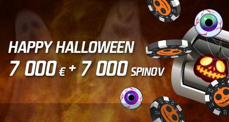 Happy Halloween v kasíne