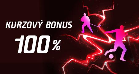 Kurzový bonus až 100 percent