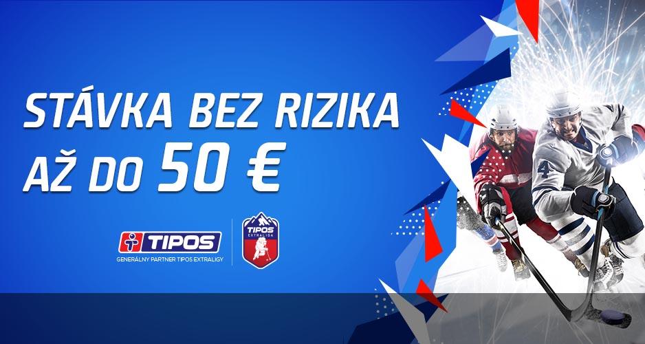 TIPOS Extraliga bez rizika až za 50 €