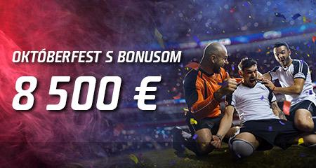 Získaj svoj bonus z dotácie 8 500 €