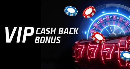 VIP cash back v eTIPOS.sk kasíne