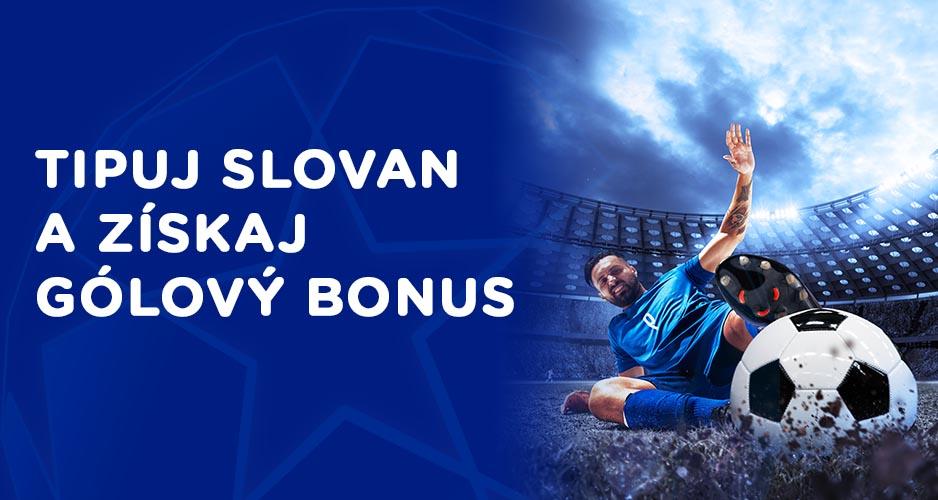 Slovan s gólovým bonusom