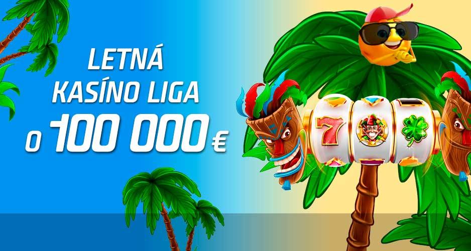 100 000 € na slotoch