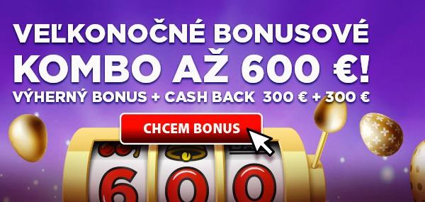 eTIPOS.sk kasíno - veľkonočné kombo